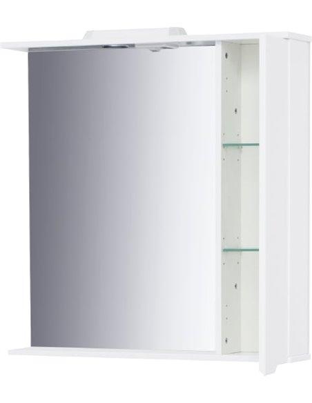 Sanstar spoguļu skapītis Bianco 80 П - 7