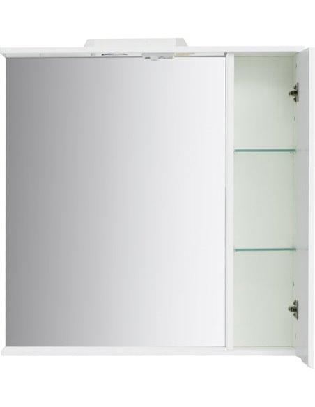 Sanstar spoguļu skapītis Bianco 80 П - 8