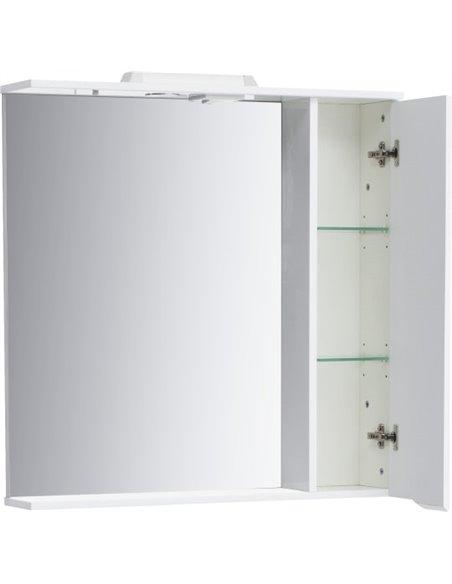 Sanstar spoguļu skapītis Bianco 80 П - 9