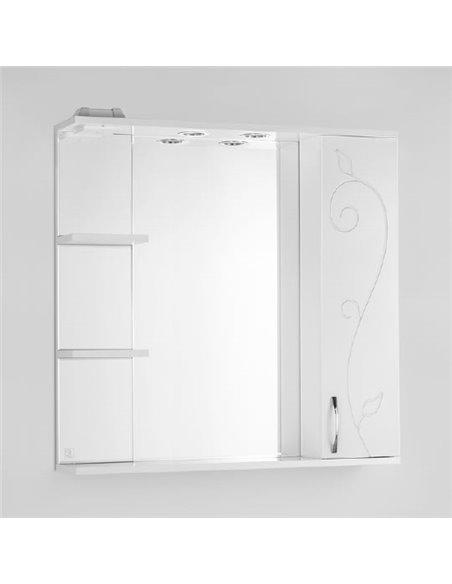 Style Line spoguļu skapītis Эко Фьюжн Панда 80/С - 1