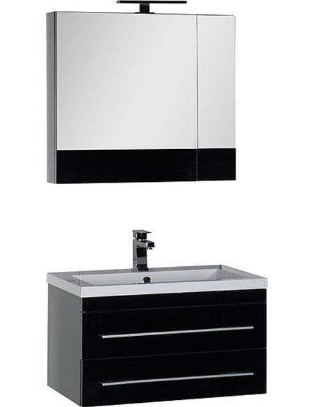 Aquanet spoguļu skapītis Верона 75 - 8