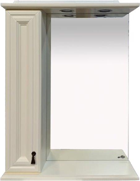 Misty spoguļu skapītis Лувр 60 L - 1