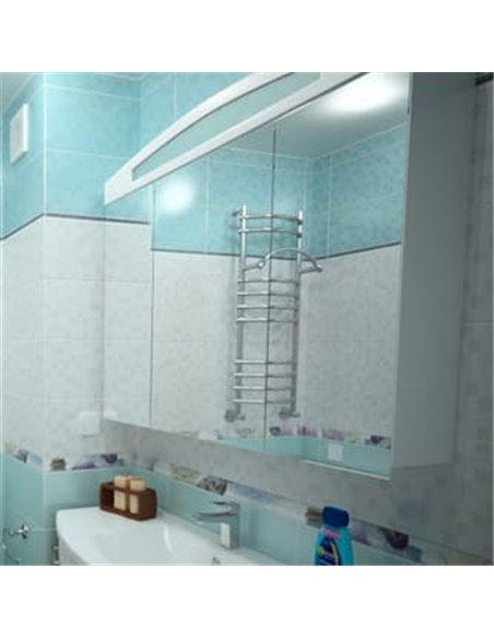 Aquanet spoguļu skapītis Тренто 120 - 2