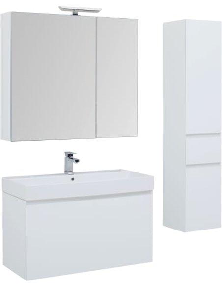 Aquanet spoguļu skapītis Йорк 85 - 2
