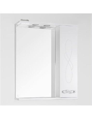 Style Line spoguļu skapītis Венеция 65/С - 1