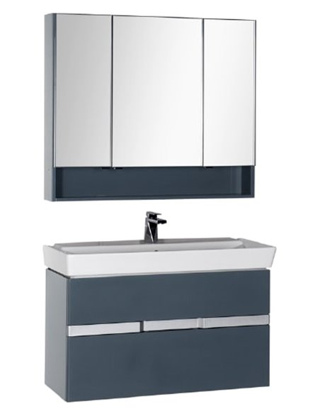Aquanet spoguļu skapītis Виго 100 - 6