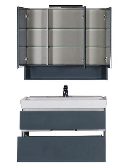 Aquanet spoguļu skapītis Виго 100 - 10