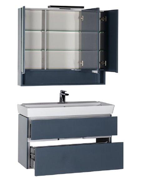 Aquanet spoguļu skapītis Виго 100 - 11