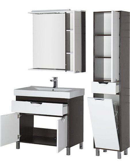Aquanet spoguļu skapītis Гретта 90 - 10