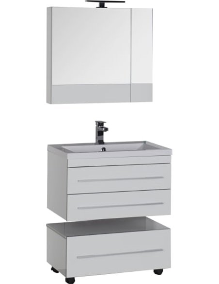 Aquanet spoguļu skapītis Верона 75 - 17