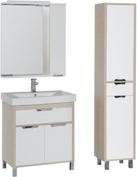 Aquanet spoguļu skapītis Гретта 75 - 10