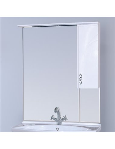 Misty spoguļu skapītis Сицилия 85 R - 1