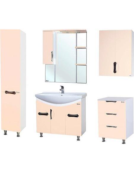 Bellezza spoguļu skapītis Лагуна 85 - 2