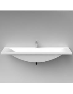 Vispool stone wash basin, 1270x640cm - 1