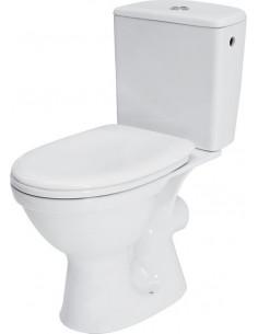 Cersanit WC kompaktpods ar vāku, horizontālais izvads MERIDA 6908 - 1
