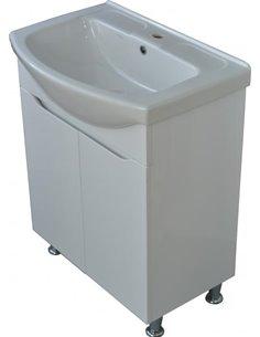 Dneprokeramika vanity unit with basin Izeo 65 - 1