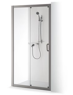 Baltijos Brasta dušas durvis 100 SVAJA caurspidīgs stikls - 1
