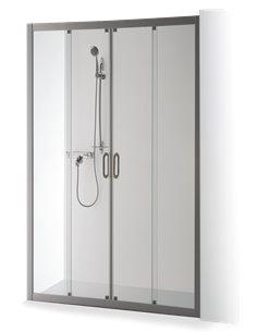 Baltijos Brasta dušas durvis 160 SVAJA PLUS caurspidīgs stikls - 1