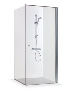 Baltijos Brasta shower enclosure KRISTINA 90x90 transparent glass - 1
