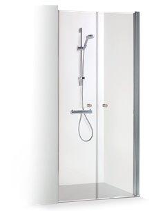 Baltijos Brasta dušas durvis GERDA 130 caurspidīgs stikls - 1