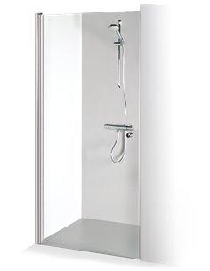 Baltijos Brasta dušas durvis GRETA 90 caurspidīgs stikls - 1