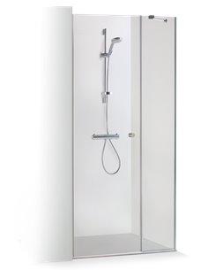 Baltijos Brasta dušas durvis RITA 120 caurspidīgs stikls - 1