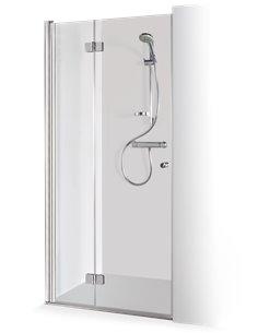 Baltijos Brasta dušas durvis GODA 80 caurspidīgs stikls - 1