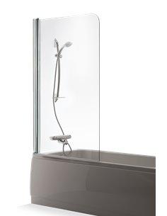 Baltijos Brasta vannas siena MAJA 100 caurspidīgs stikls - 1
