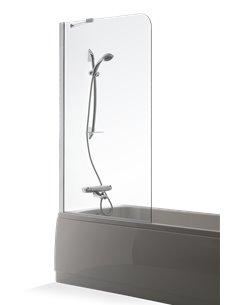 Baltijos Brasta vannas siena MIJA 80 caurspidīgs stikls - 1