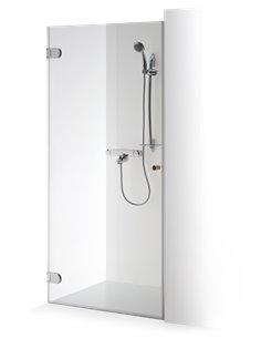 Baltijos Brasta dušas durvis IEVA 80 caurspidīgs stikls - 1