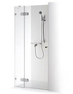 Baltijos Brasta dušas durvis IEVA PLUS 90 caurspidīgs stikls - 1