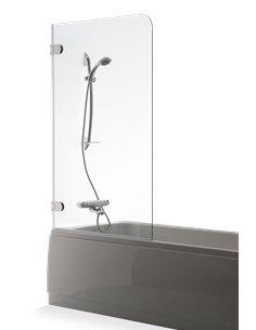 Baltijos Brasta vannas siena MEDA 80 caurspidīgs stikls - 1