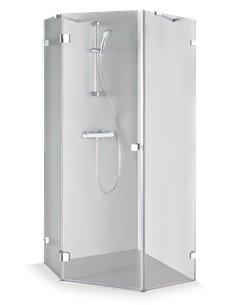 Baltijos Brasta shower enclosure INGA 90x90 transparent glass - 1