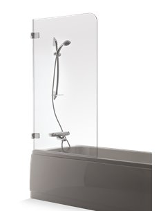 Baltijos Brasta vannas siena GAJA 70 caurspidīgs stikls - 1