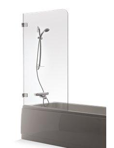 Baltijos Brasta vannas siena GAJA 80 caurspidīgs stikls - 1