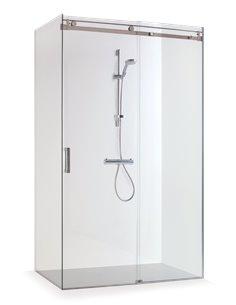 Baltijos Brasta shower enclosure MILDA 120x80 transparent glass - 1
