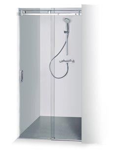 Baltijos Brasta dušas durvis GABIJA 130 caurspidīgs stikls - 1