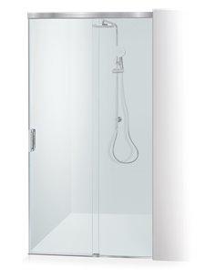 Baltijos Brasta shower door GABIJA SOFT 100 transparent glass - 1