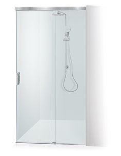 Baltijos Brasta shower door GABIJA SOFT 130 transparent glass - 1