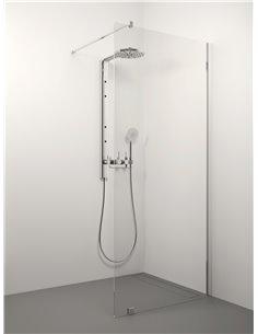 Stikla Serviss dušas siena ERIKA 120x200 Caurspīdīga - 1