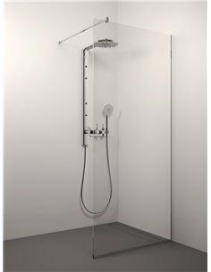 Stikla Serviss dušas siena KAIRA 120x200 Caurspīdīga - 1