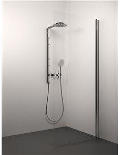 Stikla Serviss dušas siena LISA 90x200 Caurspīdīga - 1