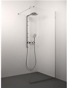 Stikla Serviss dušas siena CONFORTO 100x200 Caurspīdīga - 1