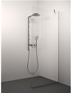 Stikla Serviss Shower wall CONFORTO COR 100x200 Clear - 1