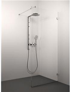 Stikla Serviss dušas siena SARA 100x200 Caurspīdīga - 1