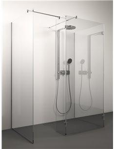 Stikla Serviss Shower wall SEI 140x90x200 Clear - 1