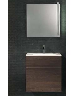 Royo Bath izlietnes skapītis + spoguļu skapītis Quadratus + Bathco izlietne Orotava - 1