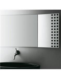 LFTS300 spogulis ar noliecamu malu 70011, 100x42cm