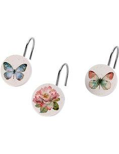 Avanti aizkaru āķis Butterfly Garden - 1