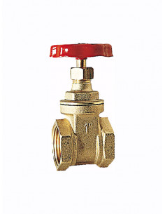"Gate valve F-F 5230 1.1/2"" - 1"